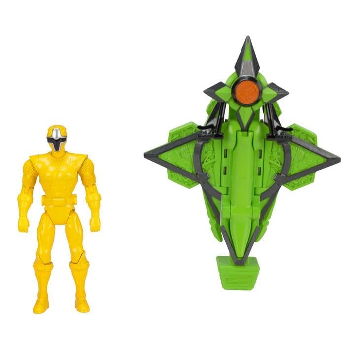 פאוור רינג'רס נינג'ה כלי משנה צורה - דמות צהובה