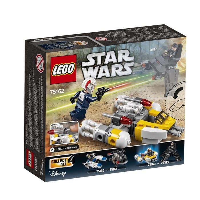 לגו מלחמת הכוכבים וואי ווינג 75162