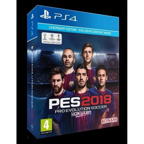 PES 2018-PS4 DLX DAY 1