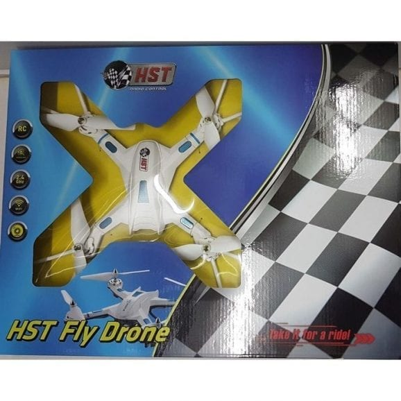 HST רחפן פליי דרון WIFI-לבן