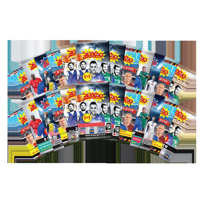 דמי חנוכה - מארז 20+20 מעטפות מסדרות שונות