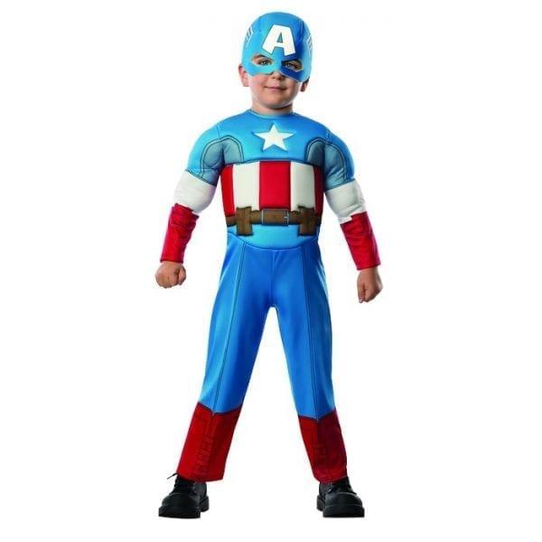 תחפושת קפטן אמריקה - לגילאי 2-3
