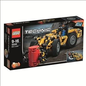 לגו טכני - טרקטור מכרות 42049