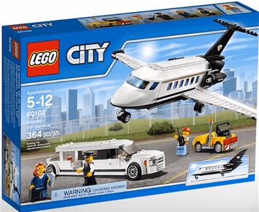 לגו סיטי - שירות VIP שדה תעופה 60102