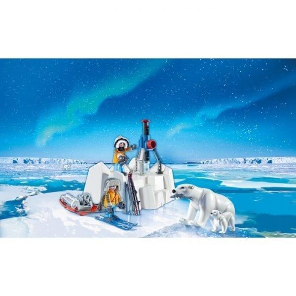 פליימוביל חוקרי אנטארטיקה ודובי קוטב 9056