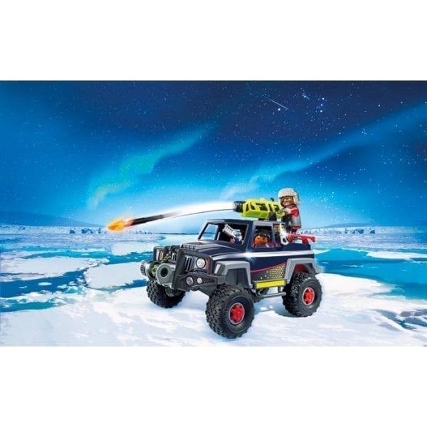 פליימוביל פיראטי הקרח ורכב שלג 9059