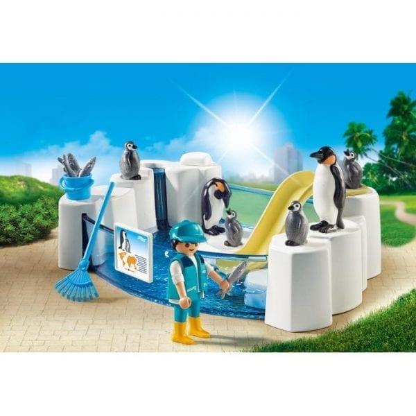 פליימוביל בריכת פינגווינים 9062