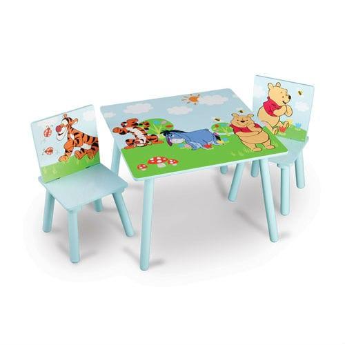 סט שולחן וכיסא פו הדוב