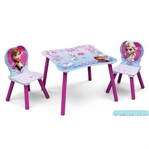 סט שולחן וכיסאות פרוזן