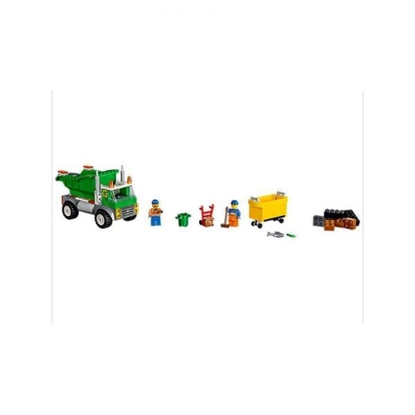 לגו ג'וניור משאית זבל 10680