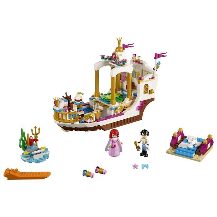 לגו דיסני נסיכות הסירה המלכותית של אריאל 41153