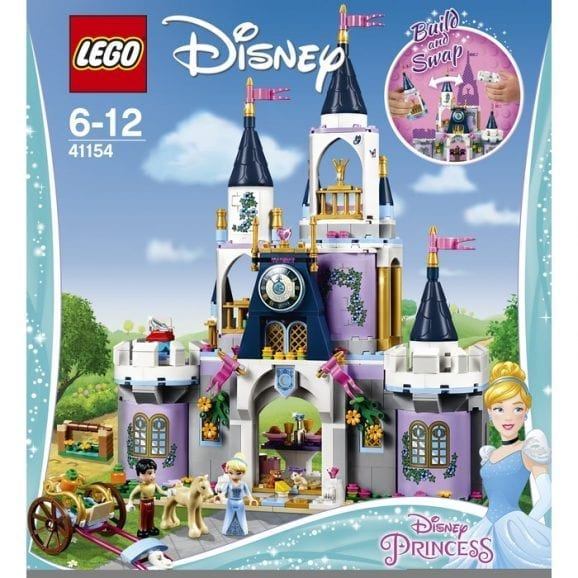 לגו דיסני נסיכות הטירה החלומית של סינדרלה 41154