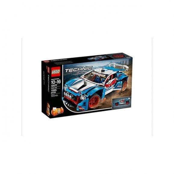 לגו טכני מכונית ראלי כחולה 42077