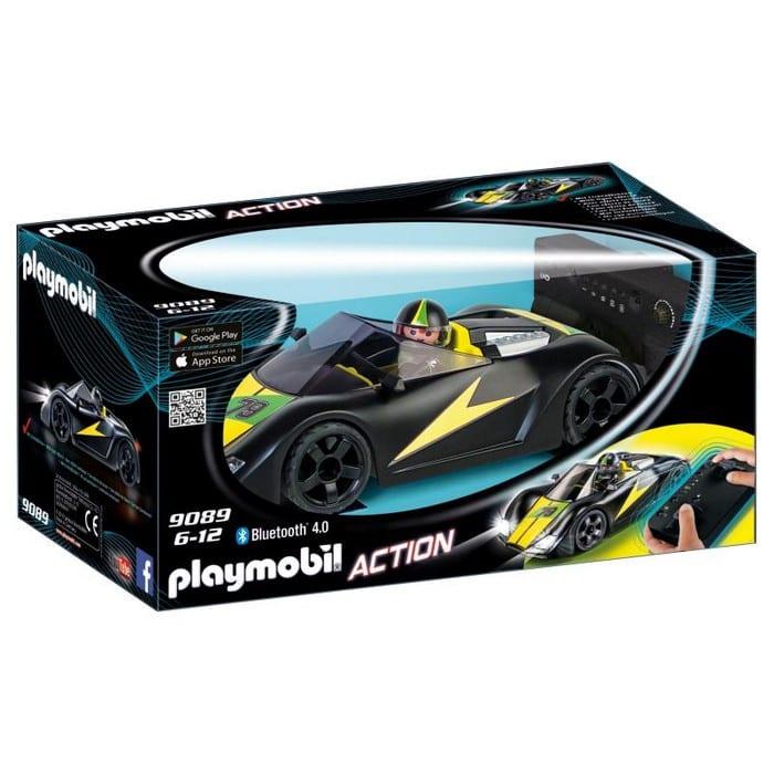 """פליימוביל מכונית מירוץ """"סופר ספורט"""" עם שלט 9089"""