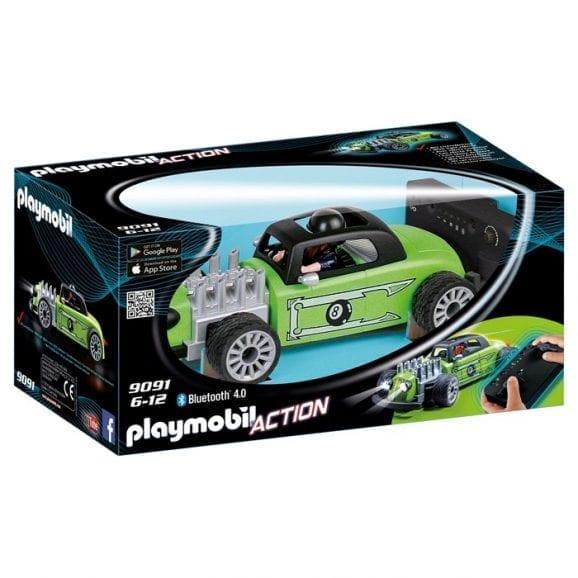"""פליימוביל מכונית מירוץ """"רוקנרול"""" עם שלט 9091"""