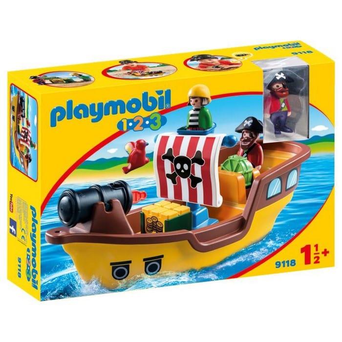 פליימוביל ספינת פיראטים לגיל הרך 1,2,3 9118