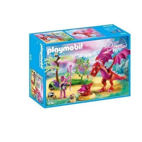 פליימוביל דרקון ידידותי והגור שלו ביער הפיות 9134