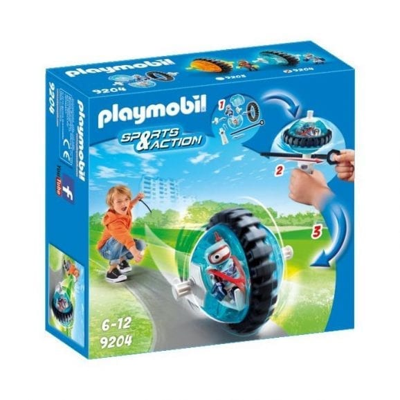 פליימוביל גלגל מירוץ כחול 9204