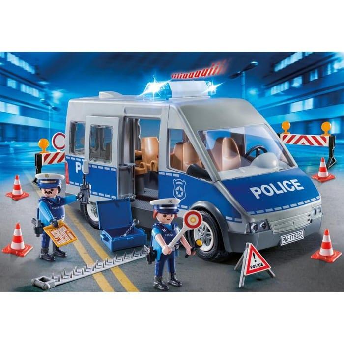 פליימוביל שוטרים וניידת משטרה 9236