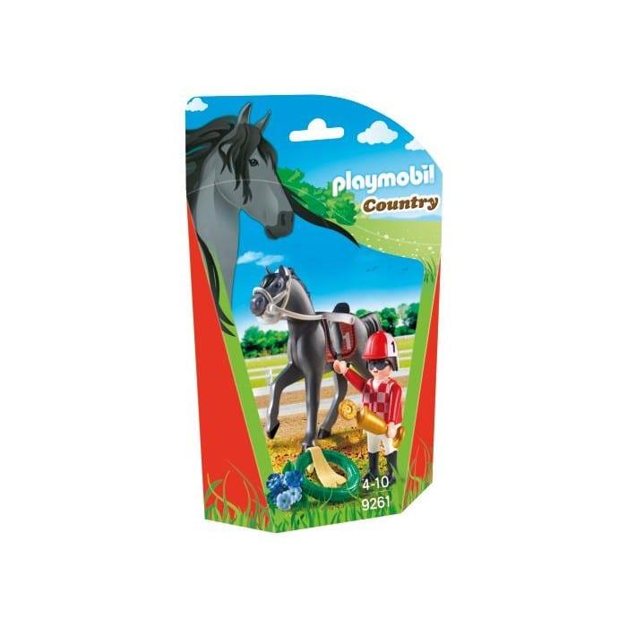 פליימוביל בליסטר רוכב תחרותי וסוס 9261