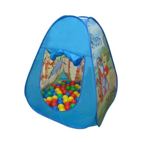 אוהל פו הדב עם כדורים