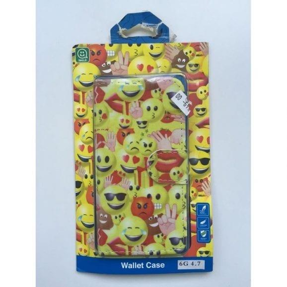 עודפים - כיסוי לאייפון שש אימוג'י צהוב