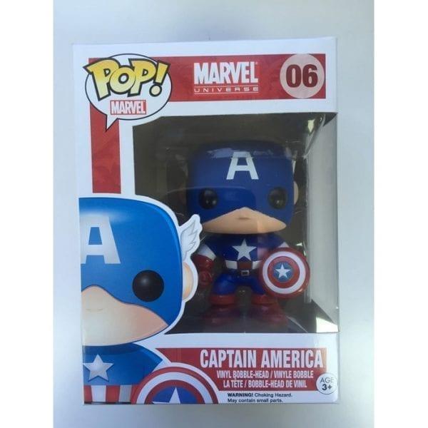 בובת פופ - Captain America POP