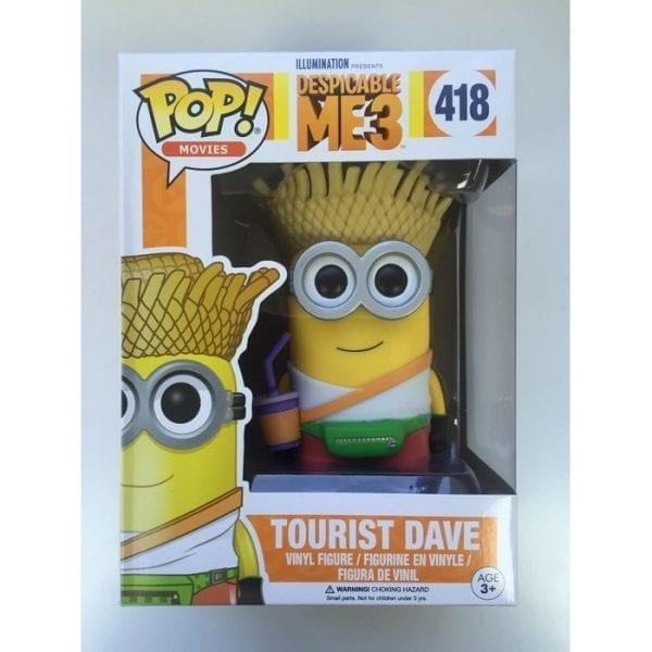 בובת פופ - dave tourist POP