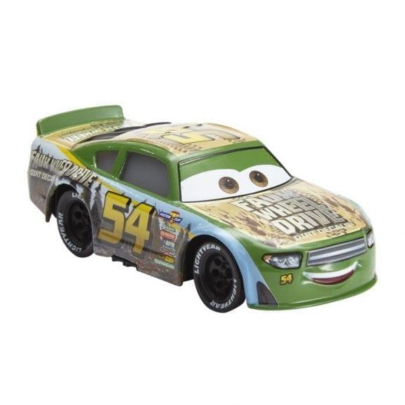 קארס - מכונית ירוק צהוב