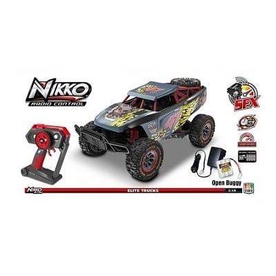NIKKO OFF ROAD RACING-ג'יפ שטח שחור צהוב