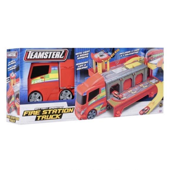 TZ - ערכת משאית כיבוי נפתחת כולל 3 רכבים
