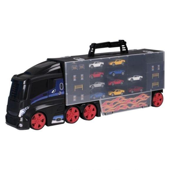 TZ - משאית לאחסון 44 רכבים כולל 10 רכבים