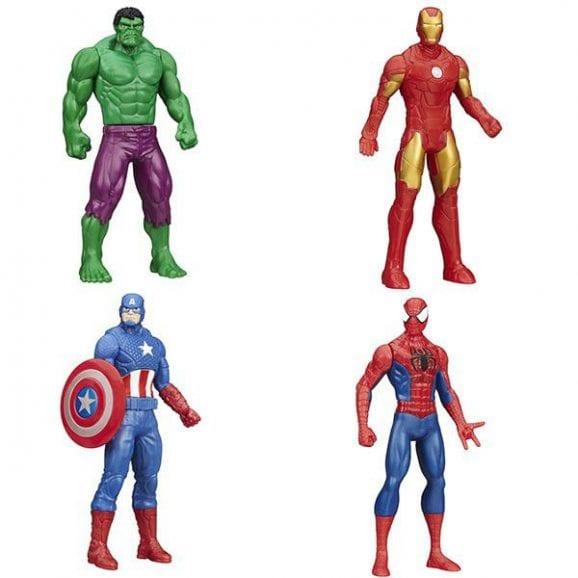 מרוול - סט 4 דמויות גיבורי על