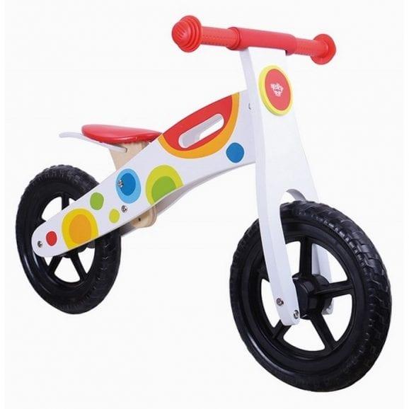 אופני שיווי משקל מעץ לילדים