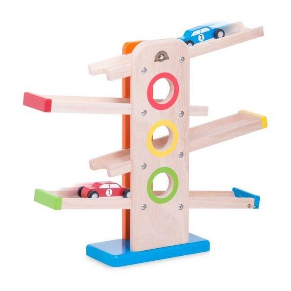 צעצועים מעץ - מדדרון מכוניות