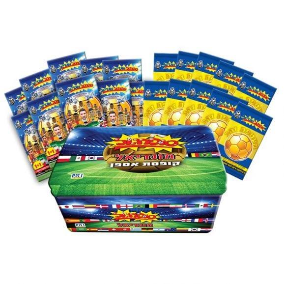 סופרגול מונדיאל קופסת אספן 10+10 סדרה 1