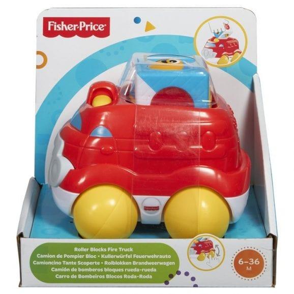 מכבי אש קוביית פעילות לתינוק - פישר פרייס