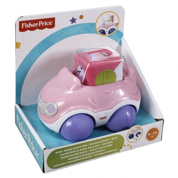 רכב קוביית פעילות לתינוק - פישר פרייס