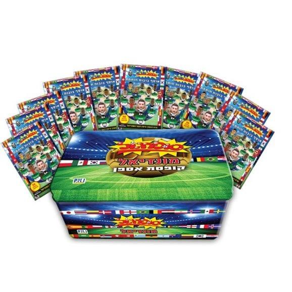 סופרגול מונדיאל קופסת אספן 10 מעטפות סדרה 2+ 10 מעטפות אסים