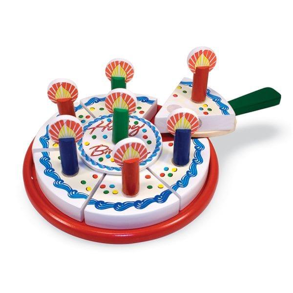 עוגת יום הולדת מעץ לילדים