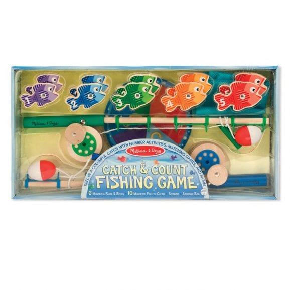 משחק דיג מעץ ללימוד מספרים לילדים