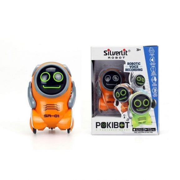רובוט פוקיבוט אינטראקטיבי 3 צבעים - כתום