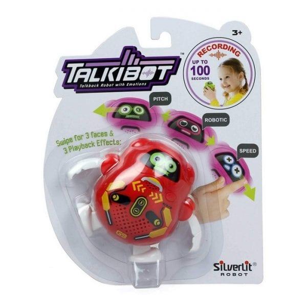 רובוט טוקיבוט מקליט בבליסטר - אדום
