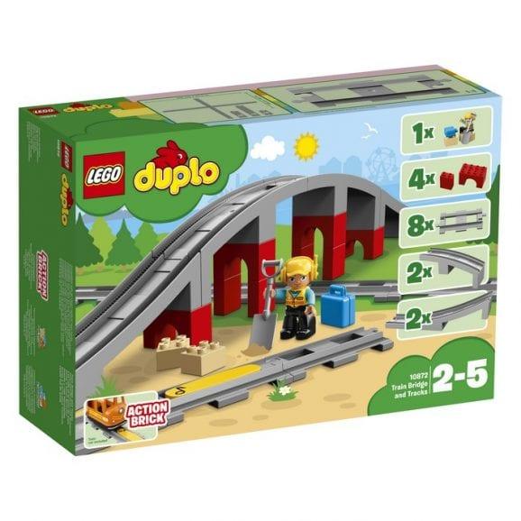 לגו דופלו - גשר ומסילות רכבת 10872