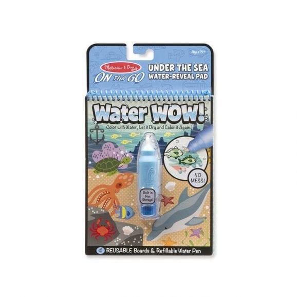 חוברת טוש המים - ים