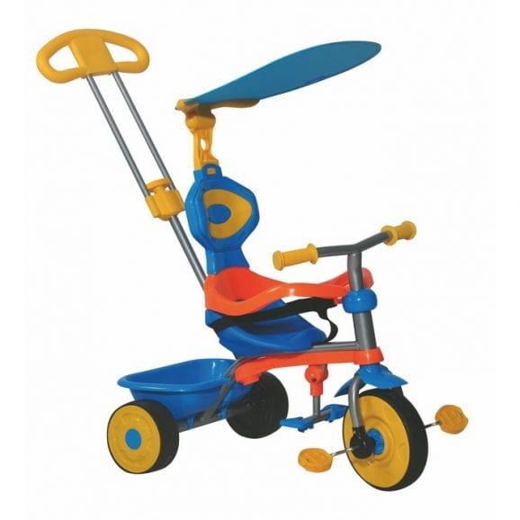 בימבה טרייק דלוקס 3 ב-1 לילדים כחול