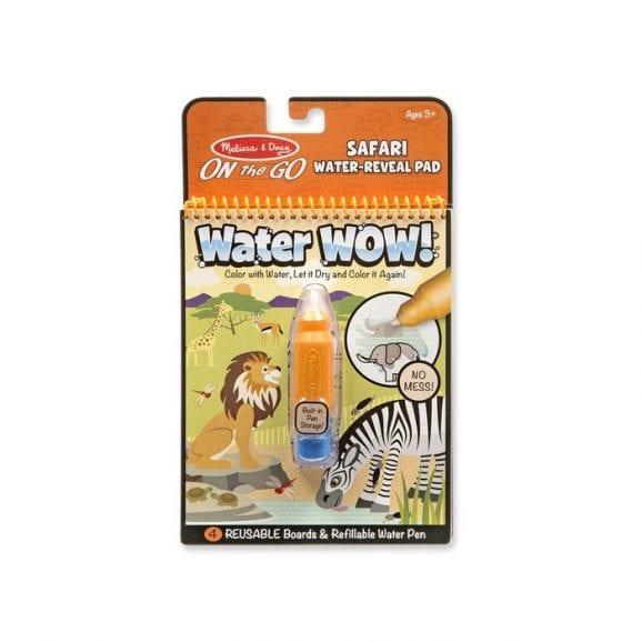חוברת טוש המים - ספארי