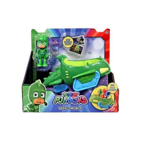 כוח פיג'יי - רכב עם דמות גקו