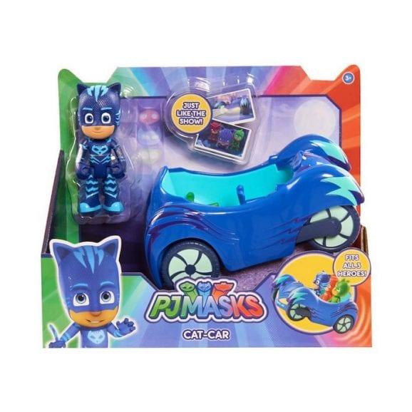 כוח פיג'יי כלי רכב כולל דמות ילד חתול