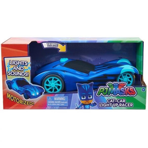 כוח פיג'יי מכונית מירוץ ממונעת - ילד חתול